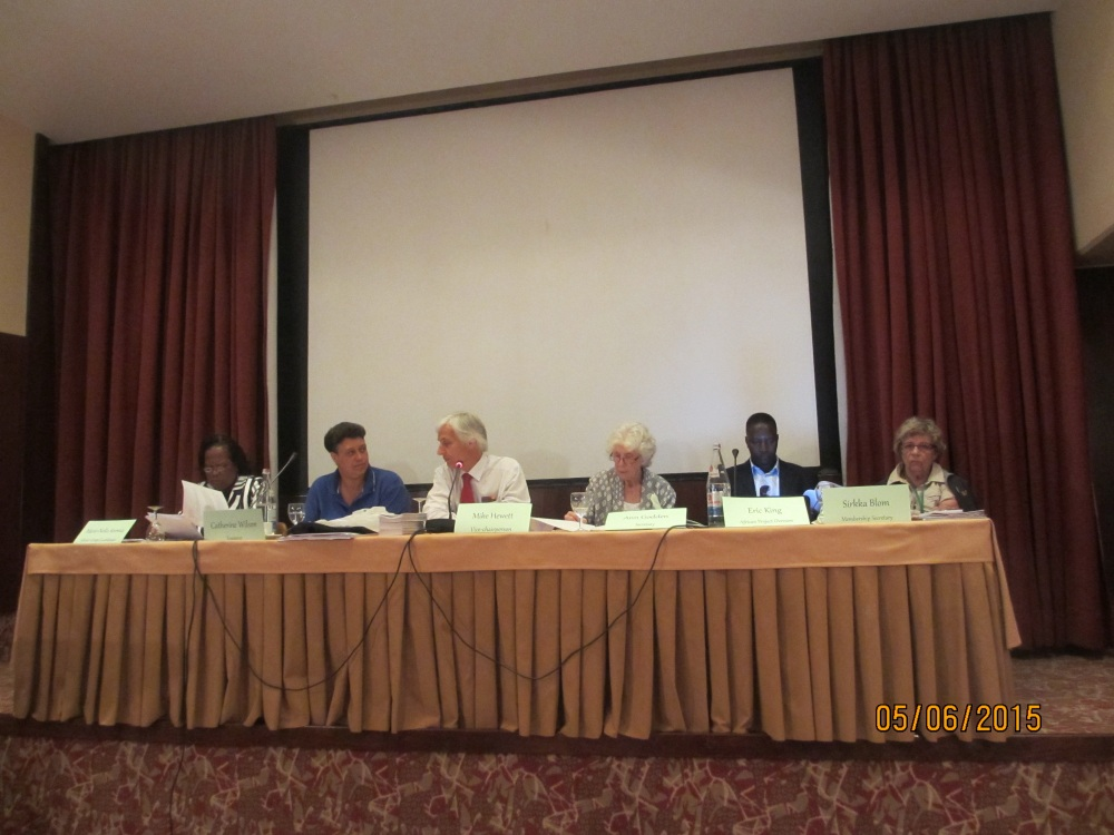 The International Committee at the International Assembly in Lisbon